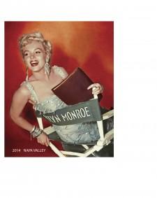 2014 Marilyn Monroe Merlot Label