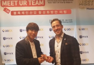 UIOEX Shakes Hands With PIVX in South Korea