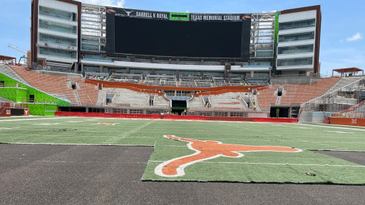 Why the University of Texas' New FieldTurf Could Be the Greatest in the NCAA