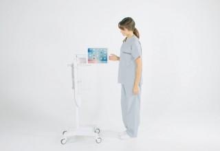 Tryten® Nova® Pro as articulating ergonomic bedside telehealth endpoint for patients
