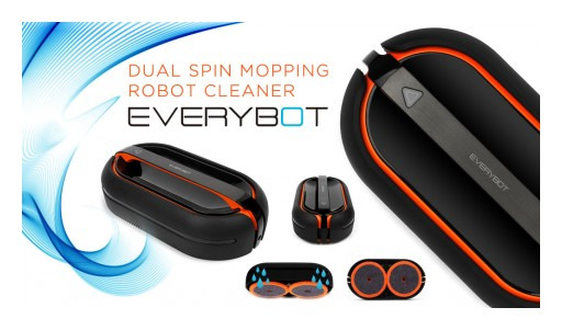 Revolutionary Robotic Mop and Polisher Everybot RS700 Launched on Kickstarter