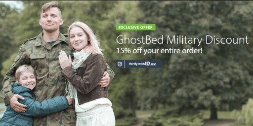 GhostBed, the Online Mattress Company With 20,000 Reviews, Launches an Exclusive 15% Off Discount to All Military
