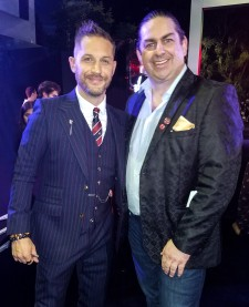 Walter OBrien with Tom Hardy