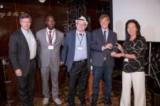 Cure Coin Award presented to Rhoda Au, PhD