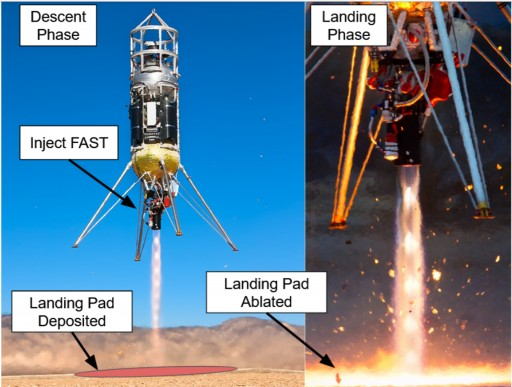 Masten Space Systems Selected for NIAC Award to Research 'Instant Landing Pads' for NASA's Artemis Lunar Missions