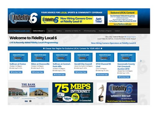 Fidelity Local 6 Revamps Web Site, Now Includes All Regions, More Content