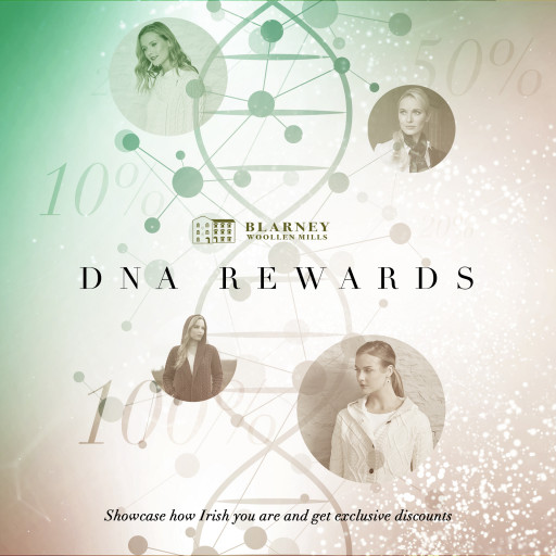 DNA Rewards: Enter Blarney Woollen Mills'  Big Competition for a Chance to Win 1 of 400 Blarney.com Promo Codes
