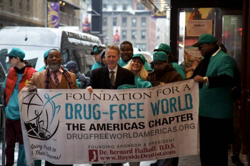Speaking Up in the Heart of New York About America's Drug Crisis