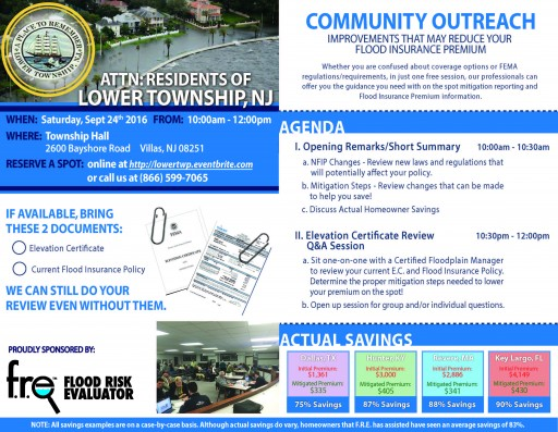 Community Outreach Scheduled for the Residents of Lower Township, NJ