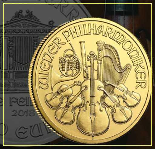 The 2018 Austrian Philharmonic Coin, a Golden Ticket to Orchestra's History