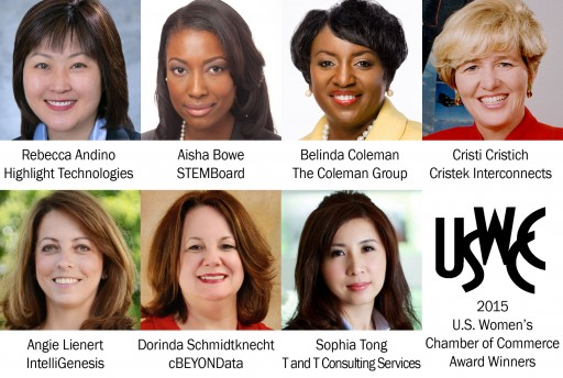 U.S. Women's Chamber of Commerce Announces Women-Owned Federal Supplier Award Winners