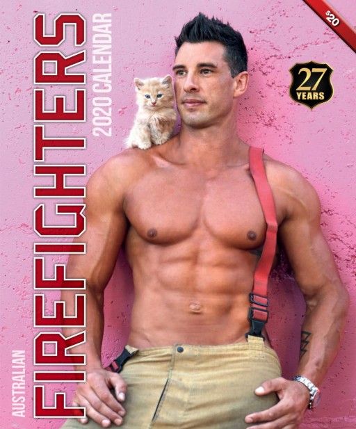 World's Hottest Firemen Bring the Heat to the 2020 Australian Firefighters Calendar Photoshoot