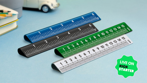 Orangered Life Launches Kickstarter Campaign for 30° Ruler