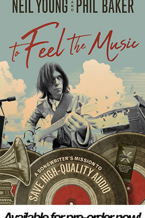 OraStream in Neil Young's New Book 'To Feel the Music'