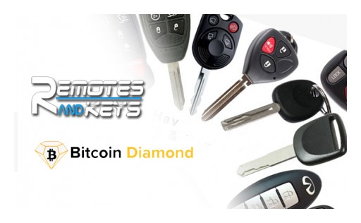 Remotes and Keys to Accept Crypto Payments Including Bitcoin Diamond (BCD)