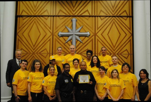 Church of Scientology Honors Buffalo Special Police on World Humanitarian Day
