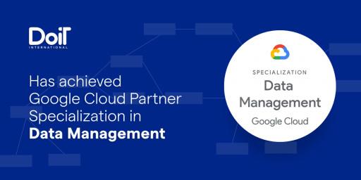 DoiT International Achieves Google Cloud Data Management Specialization