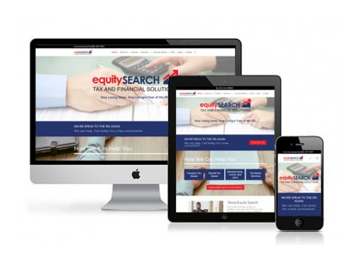 authenticWEB Launches New Site for the Tax and Financial Solution Company Equity Search Inc.