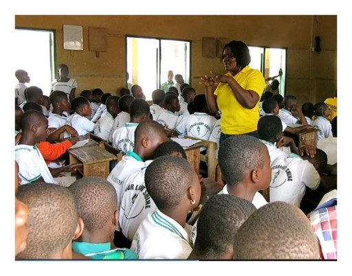 Scientology Volunteer Ministers Helping Ghana Youth