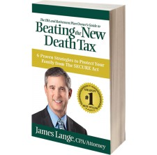 "New Book, ""Beating the New Death Tax"" by James Lange, Available Now for Pre-Order, Book Reviews, Media Requests"