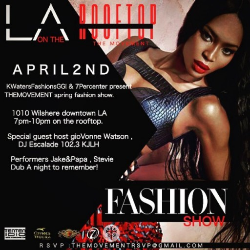 The Movement—Spring Fashion Show—Up on the TENTEN Wilshire Rooftop