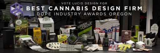 Portland's Lucid Design Nominated for Best Cannabis Design Firm in Dope Industry Awards Oregon