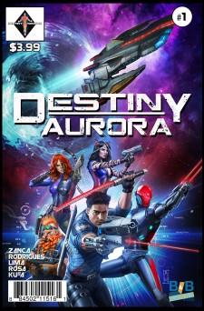 Destiny Aurora Issue #1 Cover