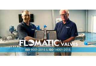 Flomatic Valves Achieves ISO 9001:2015 and ISO 14001:2015 Re-Certification
