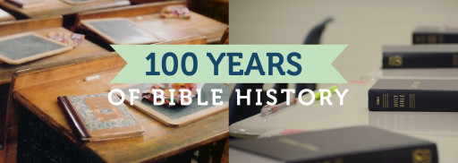 Bible in the Schools Celebrates 100 Years of Bible History Elective Courses