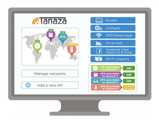 Tanaza Continues Its Growth in the Wi-Fi Industry