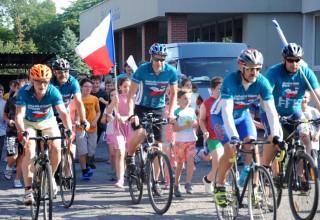 17th annual Cylo-Run for a Drug-Free Czech Republic
