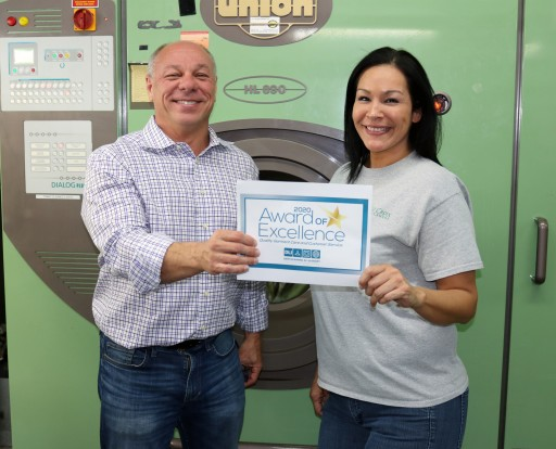 St Croix Cleaners Receives 2020 Award of Excellence