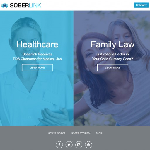 "Soberlink Launches Redesigned Website and ""Sober Stories"""