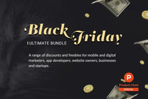 Clickky's Ultimate Black Friday Bundle of Deals Becomes One of the Products of the Day on Product Hunt