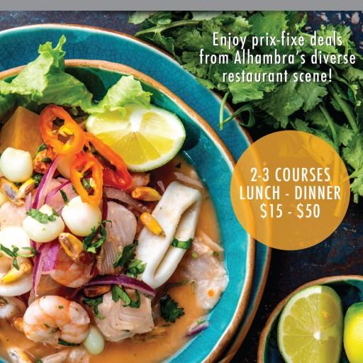 Discover Diverse, Thriving Food Scene at Taste of Alhambra Restaurant Week 2019