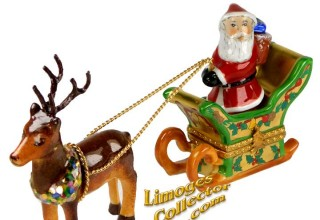 Christmas and Holiday-themed Limoges box gifts at LimogesCollector.com