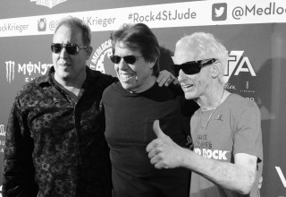 Scott Medlock, George Thorogood and Robby Krieger