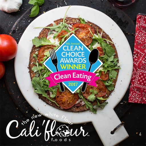 Cali'flour Foods Introduces the Only Plant-Based Vegan Cauliflower Pizza Crust Available on the Market