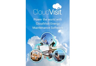 CloudVisit Wind Turbine Maintenance Software for Onshore and Offshore Wind Farms