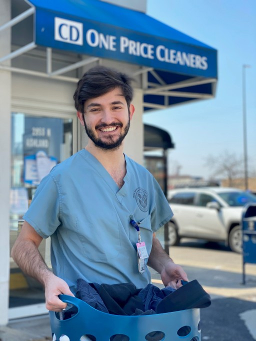 CD One Price Cleaners Cleans 25,000 Pounds of Laundry for Free for 1,000 Healthcare Workers and First Responders
