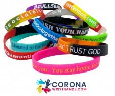 Corona Wristbands for Charity