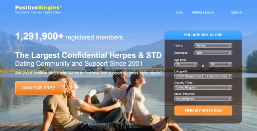 PositiveSingles: Herpes Dating Sites Play Key Role in Preventing STD Transmission
