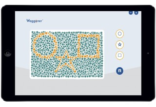 Color Vision Testing Made Easy on iPad