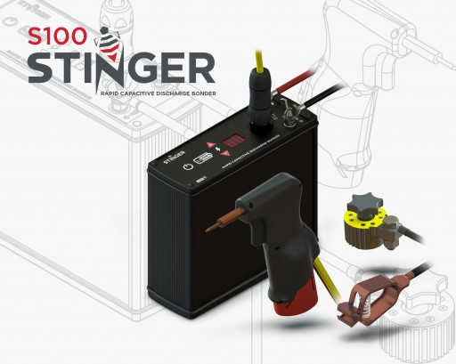 BDI's Spot-Bonder for Weldable Strain Gage Installation is Portable and Capable of 60 Bonds per Minute