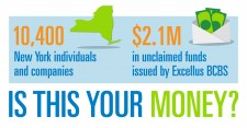 unclaimed funds - ExcellusBCBS.com/UnclaimedFunds