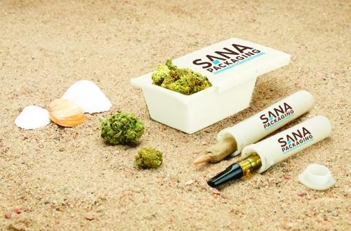 Sana Packaging Announces New Line of Reclaimed Ocean Plastic Cannabis Packaging