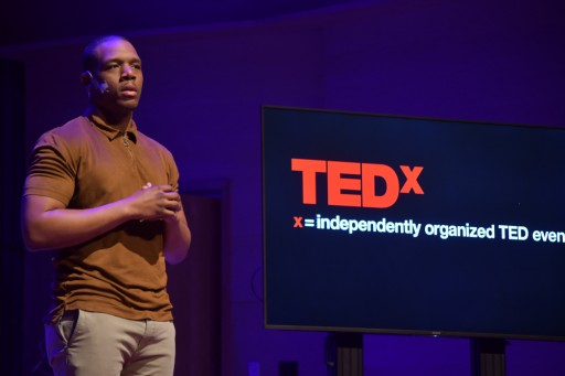 Healthcare Equality Activist and Spoken Word Artist Oscar Bruce Challenges TEDxAdelphiUniversity Audience to 'Let Your Confidence Be Your Form of Advocacy'
