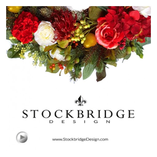 Stockbridge Design Opening its Doors to New Online Studio where Wreaths are not Just Décor but Works of Art