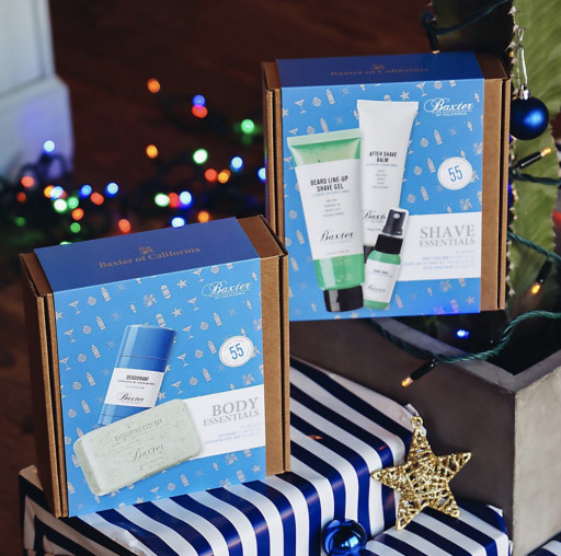 Baxter of California Launches One-Stop Holiday Shop for All Men's Grooming & Gifting Needs