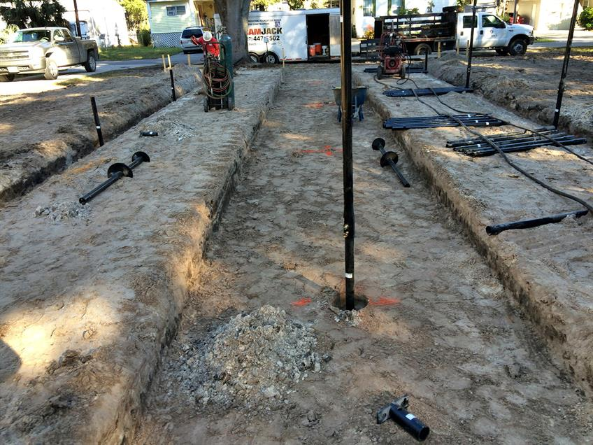 Installation Of Helical Piles Newswire